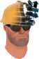 Painted Defragmenting Hard Hat 17% 256D8D.png