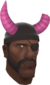 Painted Horrible Horns FF69B4 Demoman.png