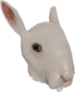 Painted Horrific Head of Hare A89A8C.png