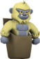 Painted Pocket Yeti F0E68C.png