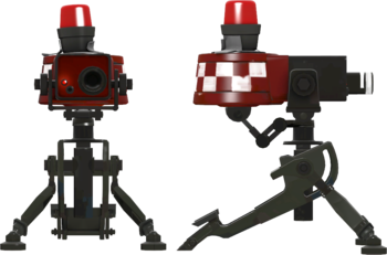 The Combat Mini-Sentries as seen on the Engineer Update page.