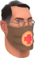 Painted Physician's Procedure Mask 694D3A.png