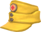 Painted Medic's Mountain Cap E7B53B.png