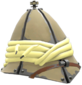 Painted Shooter's Tin Topi F0E68C.png
