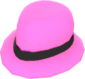 Painted Flipped Trilby FF69B4.png