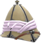 Painted Shooter's Tin Topi D8BED8.png