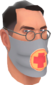 Painted Physician's Procedure Mask 7E7E7E.png