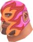 Painted Large Luchadore FF69B4 El Picante Grande.png