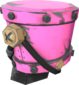 Painted Steel Shako FF69B4.png