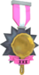 Painted Tournament Medal - Ready Steady Pan FF69B4 Ready Steady Pan Panticipant.png