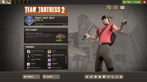 Main menu - Official TF2 Wiki | Official Team Fortress Wiki