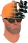 Painted Defragmenting Hard Hat 17% 2F4F4F.png