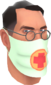 Painted Physician's Procedure Mask BCDDB3.png