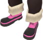 Painted Snow Stompers FF69B4.png