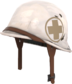 Painted Surgeon's Stahlhelm 7C6C57.png