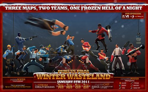 Winter Wasteland Poster