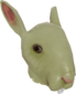 Painted Horrific Head of Hare 808000.png