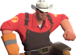 [Image: http://wiki.teamfortress.com/w/images/thumb/c/cc/Texas_Ten_Gallon.png/250px-Texas_Ten_Gallon.png]