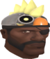 Painted Robot Chicken Hat F0E68C.png