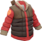Painted Down Tundra Coat 7C6C57.png
