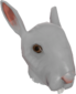 Painted Horrific Head of Hare 7E7E7E.png