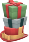 Painted Towering Pile Of Presents 2F4F4F.png