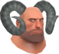 Painted Horrible Horns 7E7E7E Heavy.png