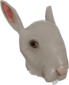 Painted Horrific Head of Hare 7C6C57.png