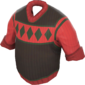 Painted Siberian Sweater 424F3B.png