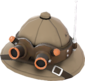 Painted Lord Cockswain's Pith Helmet 7C6C57.png