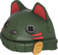 Painted Lucky Cat Hat 424F3B.png