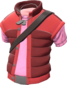 Painted Delinquent's Down Vest FF69B4.png