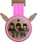 Painted Tournament Medal - TFNew 6v6 Newbie Cup FF69B4 Third Place.png