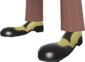 Painted Rogue's Brogues F0E68C.png