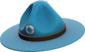 Painted Sergeant's Drill Hat 256D8D.png