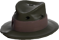 Painted Fed-Fightin' Fedora 2D2D24.png