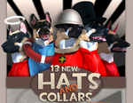 Guard dog six unnamed hats.PNG
