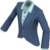 Waterlogged Lab Coat (RED) (Au Courant Assassin)