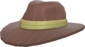 Painted A Hat to Kill For F0E68C.png
