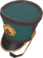 Painted Surgeon's Shako 2F4F4F.png