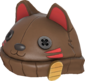 Painted Lucky Cat Hat 694D3A.png