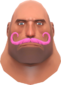 Painted Mustachioed Mann FF69B4 Style 2.png