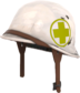 Painted Surgeon's Stahlhelm 808000.png