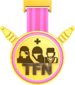 Painted Tournament Medal - TFNew 6v6 Newbie Cup FF69B4.png