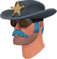 Painted Sheriff's Stetson 256D8D.png