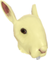 Painted Horrific Head of Hare F0E68C.png