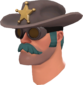 Painted Sheriff's Stetson 2F4F4F.png