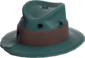 Painted Fed-Fightin' Fedora 2F4F4F.png