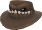 Painted Snaggletoothed Stetson 7E7E7E.png