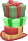 Painted Towering Pile Of Presents 32CD32.png